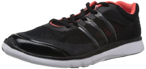 Adidas Adipure Cool Clima D66326 Damen Outdoor Fitnessschuhe, Schwarz (Black 1/Black 1/Bahia Coral S14), EU 40 2/3 (UK 7) (Schuhe Clima Adidas)