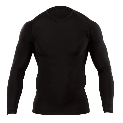 Long Sleeve Tight Crew Shirt (5.11 Tactical # 40006 Tight Crew Long Sleeve Shirt (groß) XL schwarz)
