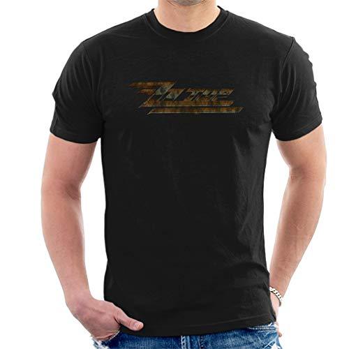 ZZ Top Twin Zees Vintage Kurzarm Herren T-Shirt Schwarz X-Large -