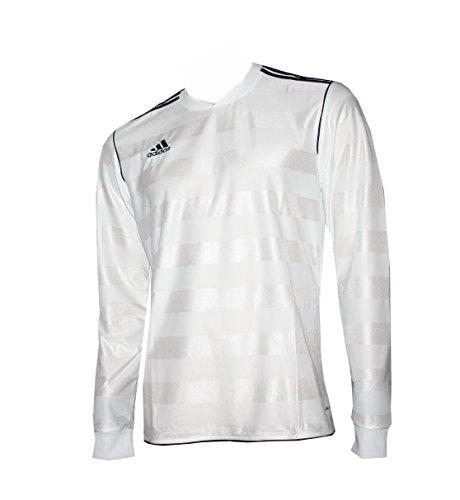 Adidas Herren Fußball Shirt TABE 11 JSY Langarm (Langarm-shirt Adidas Weißes)