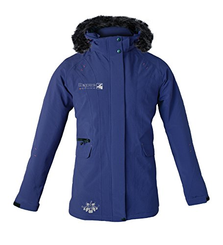 Deproc Active Damen Mantel Urban-outdoor Softshell Longjacket Dawson Lady, Violet, 52.0, 54625-641-52