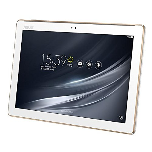 "Asus ZenPad 10 Z301M-1B017A Tablet con Display da 10.1"" HD, Processore MTK MT8163B, RAM da 2 GB, Storage da 16 GB, Bianco"