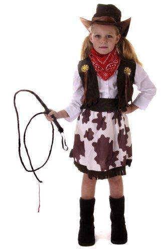 Cowgirl Kostüm Alter 10-11 Jahren zur Verfügung (Kostüm-cowgirl-stiefel)