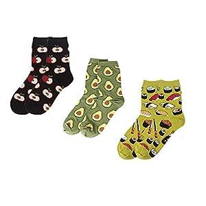Donna 2 Paio SockShop MIX di Lana a Righe E Tinta Unita Calze Stivale