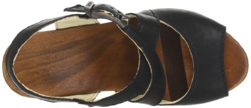 Woody Elenor 12233, Chaussures femme Noir-TR-J4-19