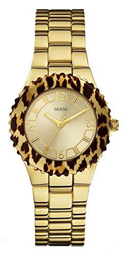 Guess Reloj Analogico para Mujer de Cuarzo con Correa en Acero Inoxidable W0404L1