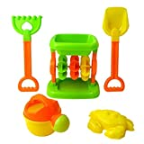 Kinder BEACH SEASIDE Wasser Toy Sanduhren-Set 5