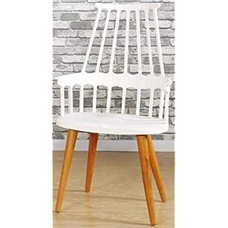 YUJINMAOYI Italienisch moderner nordischer Stuhl, nach Hause Restaurant/Cafe Hotel Stuhl, praktisch Windsor Stuhl, die Studie Stuhl,Hellgrau