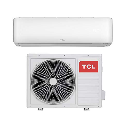 12000 BTU Smart WiFi A++ easy-fit DC Inverter Wall Split Air Conditioner with 5 meters pipe kit - Wall Mounted Air Conditioning Unit with 5 years warranty by ElectrIQ (Air Conditioner Smart)