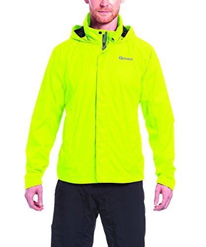 Gonso Herren Save Allwetter-Jacke, Safety Yellow, L (Safety Jacke)