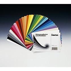 Hama Farbmusterfächer Hintergrundkarton, 46-Teilig, Bunt