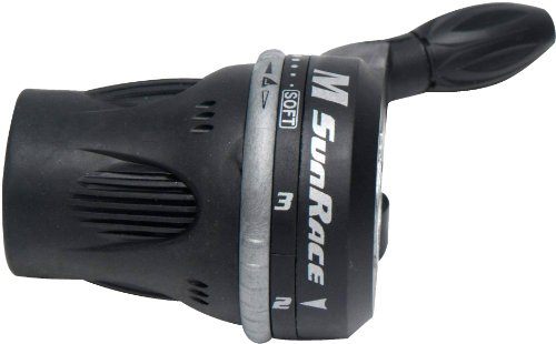 SUNRACE M63 Twist Shifter: 3 Speed vorne