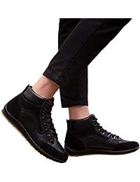 Bestow Cuatro Temporadas para Hombres para Ayudar a los Zapatos Casuales, Zapatos Retro para Hombres