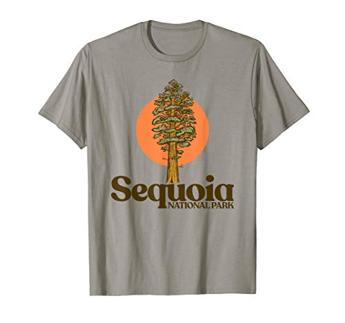 Sequoia National Park General Sherman Tree Graphic T-Shirt