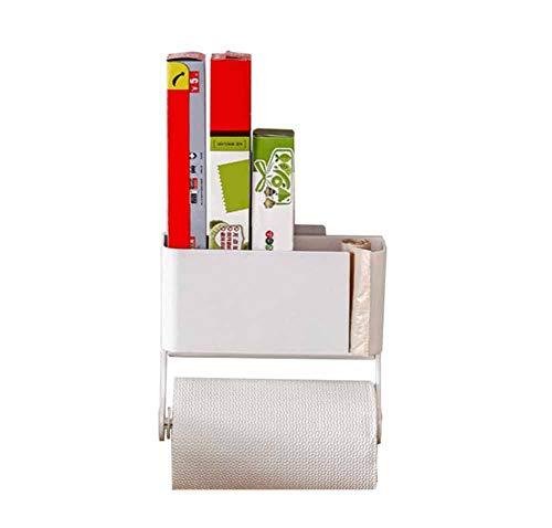 Regal Tongtong Shop Wandmontage Küche Rack Kunststoff Multifunktions-Aufbewahrungsbox Rolle Papier Wrap Folie Halter - Wrap-halter Papier