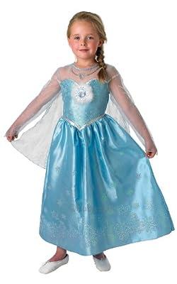 Elsa - Deluxe - Disney Frozen - Chidlrens Disfraz de Rubies