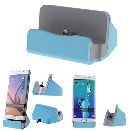 Asiproper Daten Sync Charger Charging Dock Cradle Ständer Station für Samsung Sony LG G4 (Desktop Base Phone Charger)