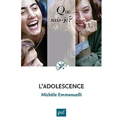 L'adolescence: « Que sais-je ? » n° 102