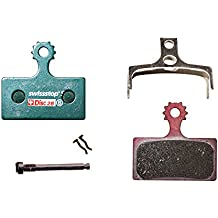 SwissStop Disk Brake Pads - gesintert » Shimano XTR M985, XT M785, SLX M675, Deore M615, FSA (disc28S)