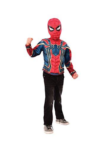 Infinity War Iron Spider Iw Brust Kostüm Inf-Box, Mehrfarbig (Rubies 34184)