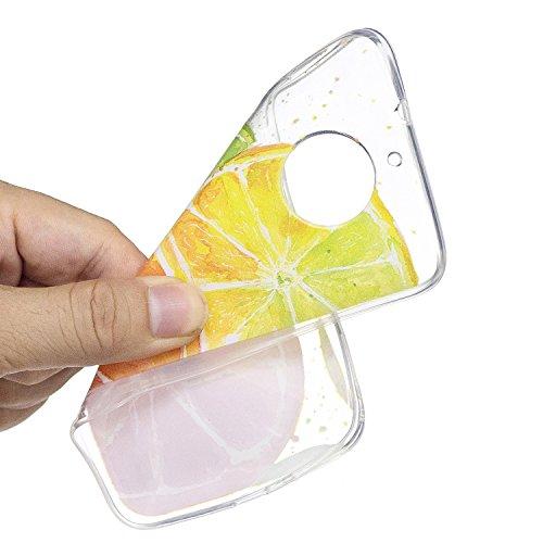 KANTAS 3X Coque Silicone Transparente pour Moto G5S TPU Doux Back Case Caoutchouc Gel Etui Clair Ultra Mince Coquille Slim Fit Flexible Housse Silicone Souple Rubber Soft Clear TPU Bumper Soft Couvert 7