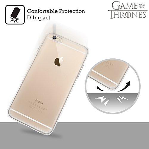 Ufficiale HBO Game Of Thrones Targaryen Bandiere Sigilli Cover Morbida In Gel Per Apple iPhone 6 / 6s Lannister