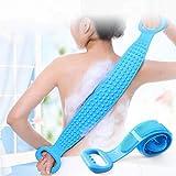 Trìmoto Bath Brush Bathing Belt Body Wash Brush Back Scrubber Body Washer For Dead Skin Removal For Men Women Kids Unisex (Mu