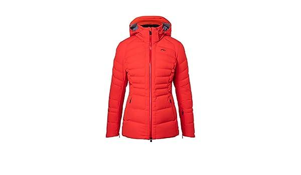 Kjus DUANA LS15 E05 81900 Veste de Ski pour Femme Rouge