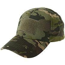 JERKKY Gorra Militar de Camuflaje del ejército Sombrero de béisbol Parche Sombrero Insignia Gancho Brassard Emblema