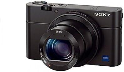 Sony DSC-RX100 Cyber-shot Digitalkamera (20 Megapixel, 7,6 cm (3 Zoll) Display, lichtstarkes 28-100mm Zoomobjektiv F1,8 - 4,9, Full HD) schwarz