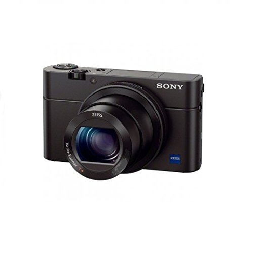 Sony RX100 Premium Kompakt Digitalkamera (20 MP, 7,6 cm (3 Zoll) Display, 1 Zoll Sensor, 28-100 mm F1.8-4.9 Zeiss Objektiv, 3,6x opt. Zoom) (DSC-RX100) schwarz