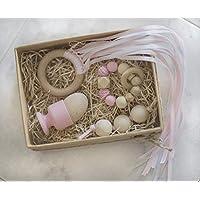 Kit Montessori Set de Regalo para bebé - Rosa - SleepyTree