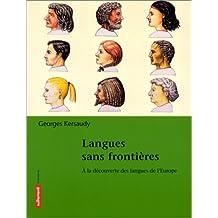 Langues sans frontières. A la découverte des langues de l'Europe