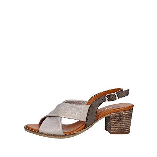 Cinzia Soft IK20207 001 Sandalo Donna Pelle TORTORA TORTORA 40