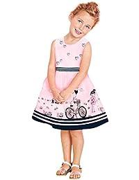 UOMOGO® Bambini Vestiti per le Ragazze 2018 Del Estate Vestito Del Bambino  Del Fiore vestiti f8d811f7c89