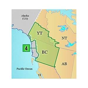 Garmin Carte topographique Canada DC pour North BC / South Yukon