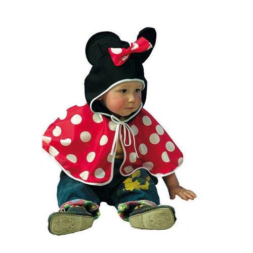 Kostümplanet® Maus-Kostüm für Babys Babykostüm Karneval Größe 86/92