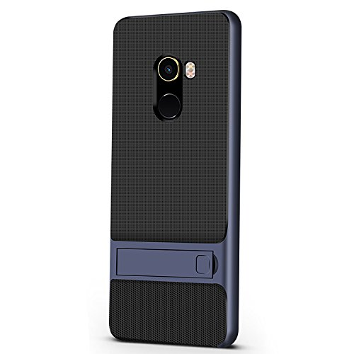 Casos Funda® Firmness para smartphone com Kickstand para Xiaomi Mi MIX 2 (Azul)
