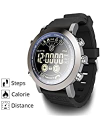 513555b1bf05 Zz max Reloj Deportivo Moda Impermeable Pantalla Circular Escalada al Aire  Libre Multifunción Cuarzo Reloj Deportivo