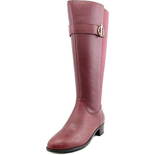 isaac-mizrahi-senso-wide-calf-femmes-us-7-rouge-botte