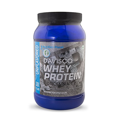 Nutrition Planet Davisco Whey Protein Concentrate 80% Unflavored 2lbs