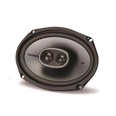 """Kicker 41KSC6934 6x9"""" 3-Way Coaxial Speaker - Pair (Black) by Kicker"""