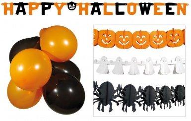 Boland 74389. - Halloween Party Set Luftballons Girlanden