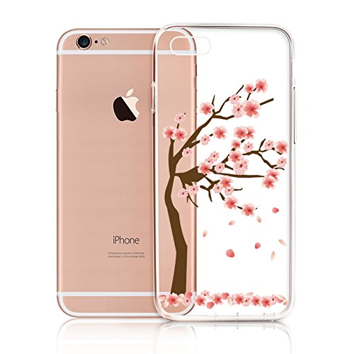 iPhone 6 Custodia,CaseLover Esclusivo Neo Disegno Bumper Morbida Trasparente TPU Silicone Gel Gomma Flessibile Protettiva Ultra Thin Slim Shell Case Cover Per Cute Girl for iPhone 6/6S 4.7