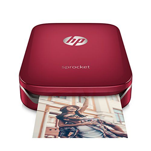 *HP Sprocket Mobiler Fotodrucker – rot*