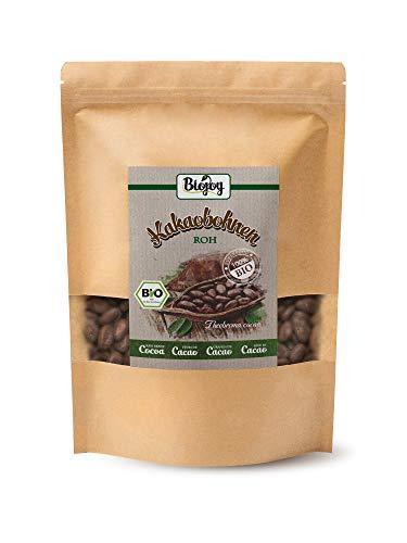 Biojoy BIO-Kakaobohnen roh, naturbelassen und ungeröstet, Theobroma cacao (1 kg)