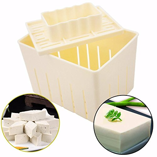 Diy Tuch (mengcore DIY Tofu Maschine Tofu Maker Drücken Form Kit + Käse Tuch Soja DIY Drücken Mould Küche Tool)