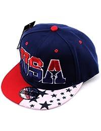 Casquette ajustable des Etats-Unis avec étoile brodée. Produit offert par NYfashion101.