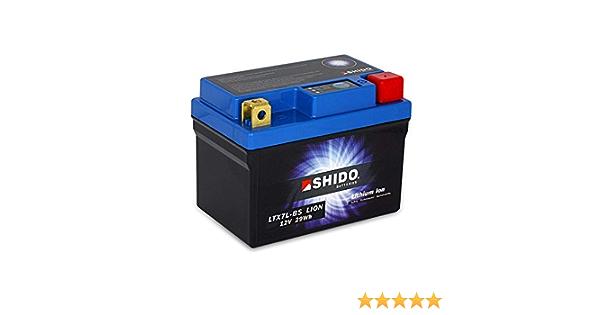 Batterie 12v 2 4ah 6ah Ytx7l Bs Lithium Ionen Shido 50614 Forza 125 Jf60 15 16 Auto
