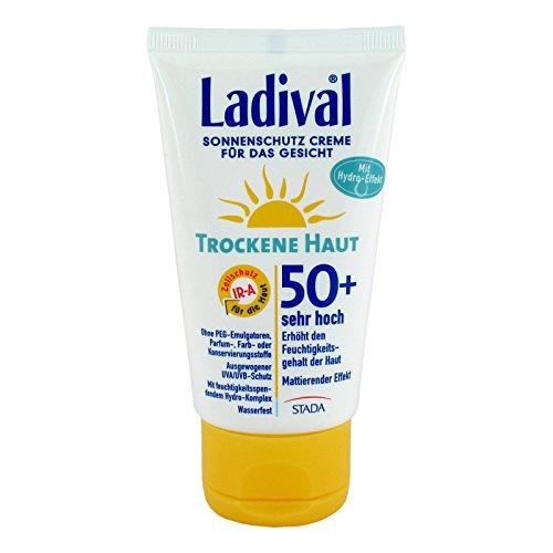Ladival Peaux Sèches Crème pour le visage SPF 50 +